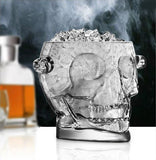 Glass Skull Ice Bucket - magazine