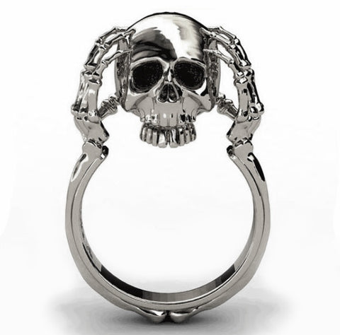 """Macbeth"" Skull Ring"