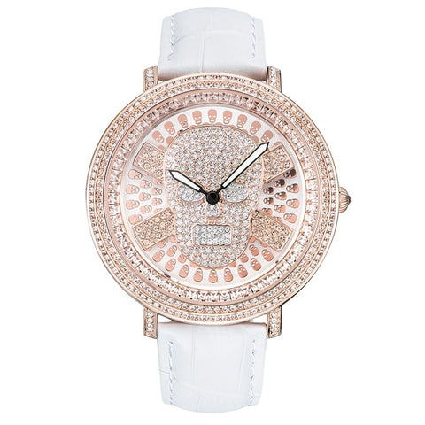 """Crystal Skull"" Ladies Quartz Watch"