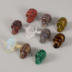 Gemstone Skulls - Single or Entire Set!