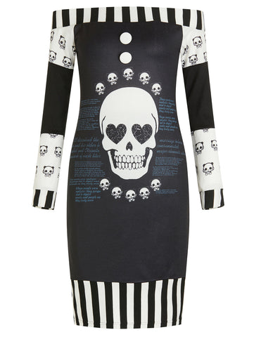 """Otranto"" Skull Dress - main"