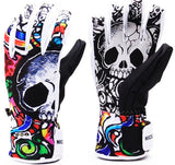 Skull Winter Gloves