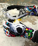 Skull Winter Gloves - magazine