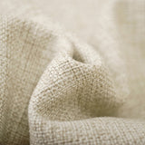 """The Cult"" Skull Linen Throw Cushion Cover - fabric close up"