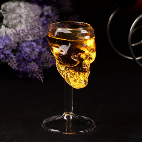 Skull Wine Glass - skullpixie.com