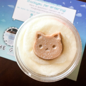 Cookie Cat Bubble Scrub