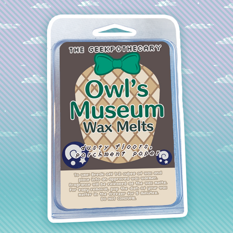 Owl's Museum Wax Melts