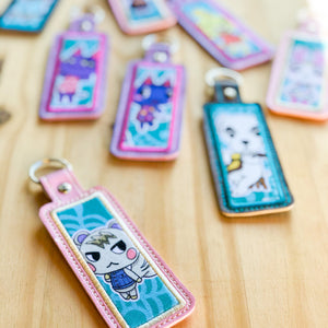 Lip Butter Holder Keychains