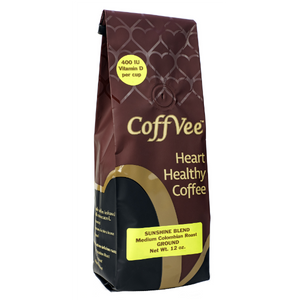CoffVee™ – Sunshine Blend – Colombian Medium Roast - Ground