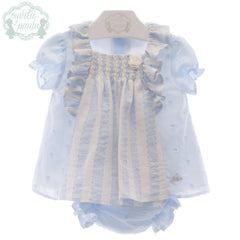 Baby Girls ruffles blouse with panty