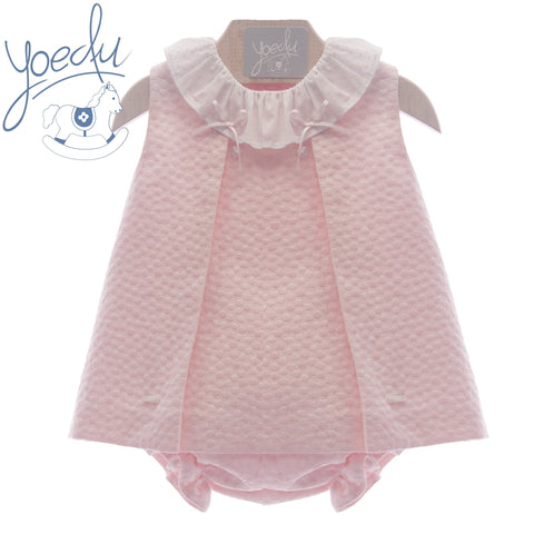 Baby Girls polka dots collar dress and panty