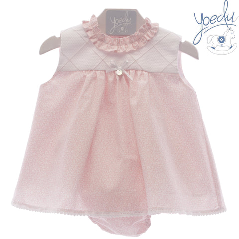 Baby Girls Little flowers  dress with matching panty