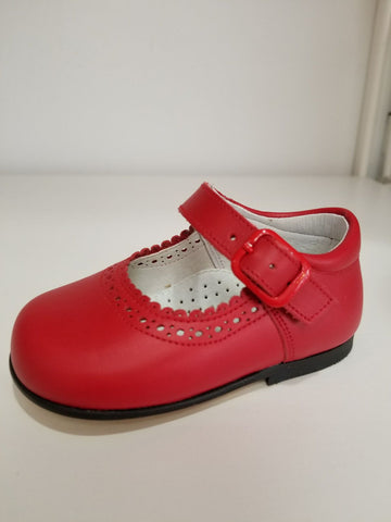 RED  BABY GIRL SHOES
