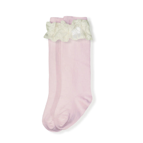 Girls Socks lace ruffle