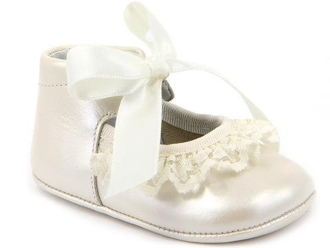 BABY GIRLS SOFT LACE SHOES