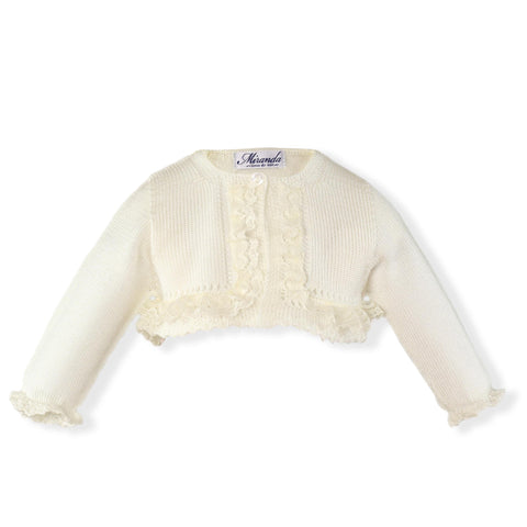 Baby Girls Cardigan with lace