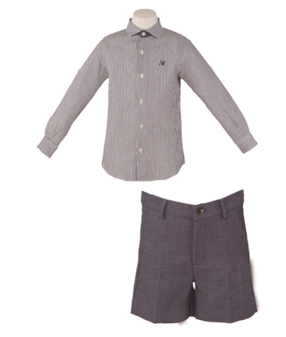 SHIRT AND SHORTS SET FOR BOY