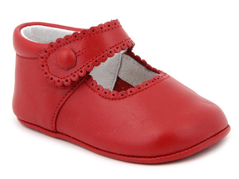 Baby Girls soft strap shoes