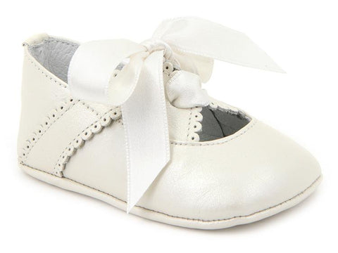 Baby Girls Soft shoes double fastened by ribbon