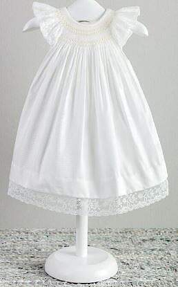 Girls Ivory Valencien Dress