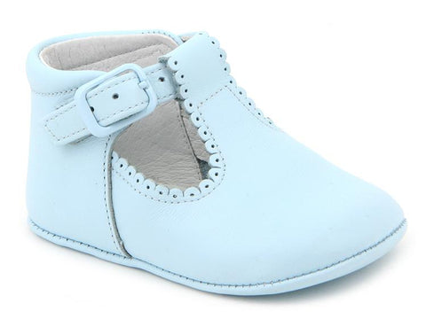 BABY BOYS T BAR PRAM SHOES