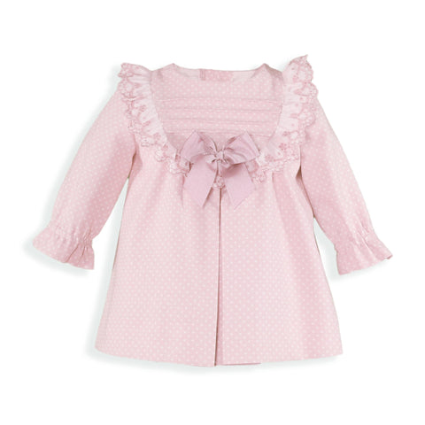 Baby Girls polka dots long sleeve Dress