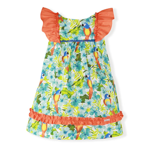Girls Birds print dress
