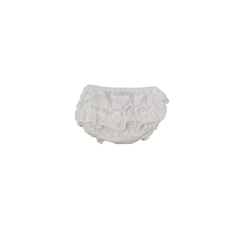 Baby lace ruffle bloomer