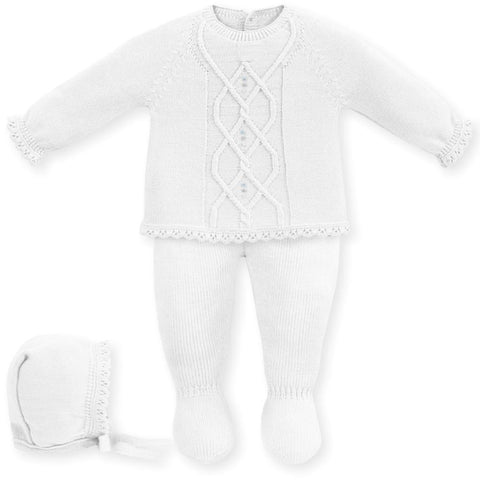 Newborn aran delicado 3p set