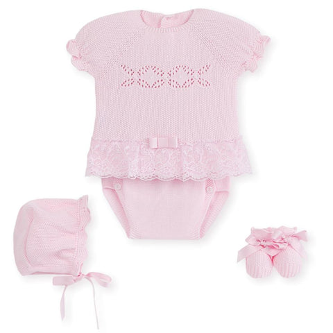 Girls 4p pura delicadeza panty set