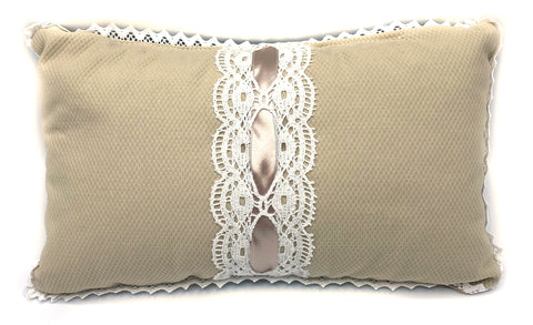Baby lace cushion