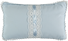 Baby lace pique pillow