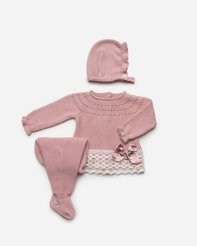 Newborn canesu lace 3p set