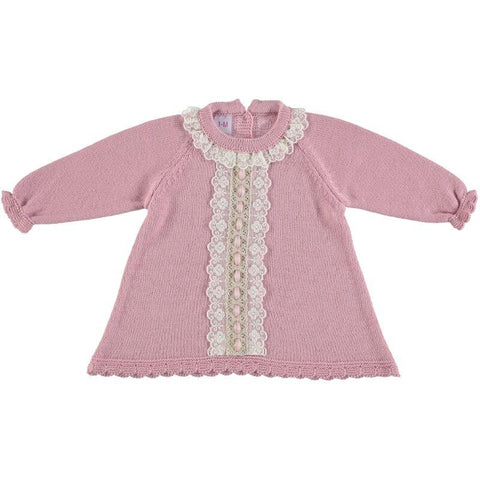 Baby Girls flowers Lace tachon dress