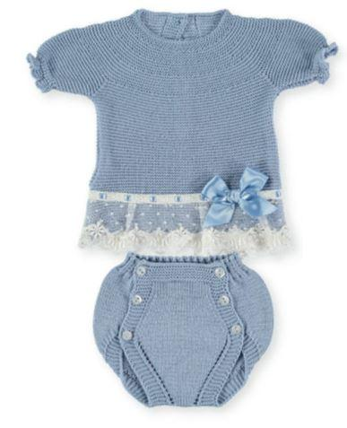 Baby Girls Set 2p bodkin lace