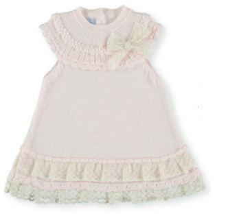 Baby Girls Ruffle Lace and bow dress