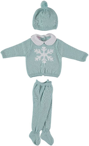 Newborn 3p set snowstar