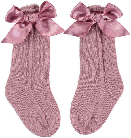 Baby Girls bow  socks