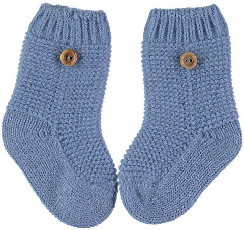 Baby buttons socks