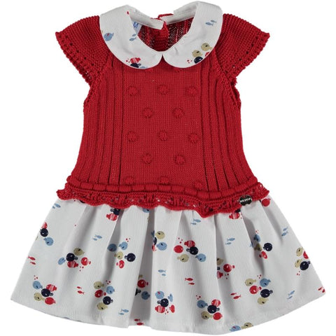 Baby girlsfish print low waist dress
