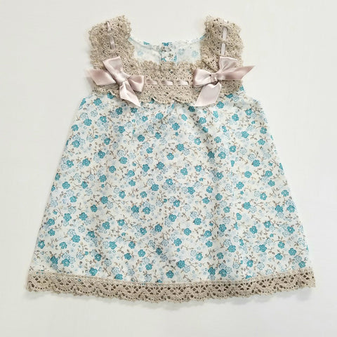 Little flowers print dress