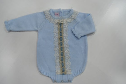 Baby Girls Lace tachon point Romper