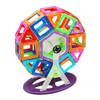 Image of Joc de Constructie Magnetic Educativ 3D - Carnival Set (46 piese) - Smart One