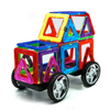 Image of Joc de Constructie Magnetic Educativ 3D - Car Set (36 piese) - Smart One
