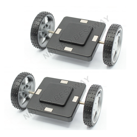 ***Back In*** Car Wheels Set-Roti Masina (2 bucati= 4 roti) - Smart One