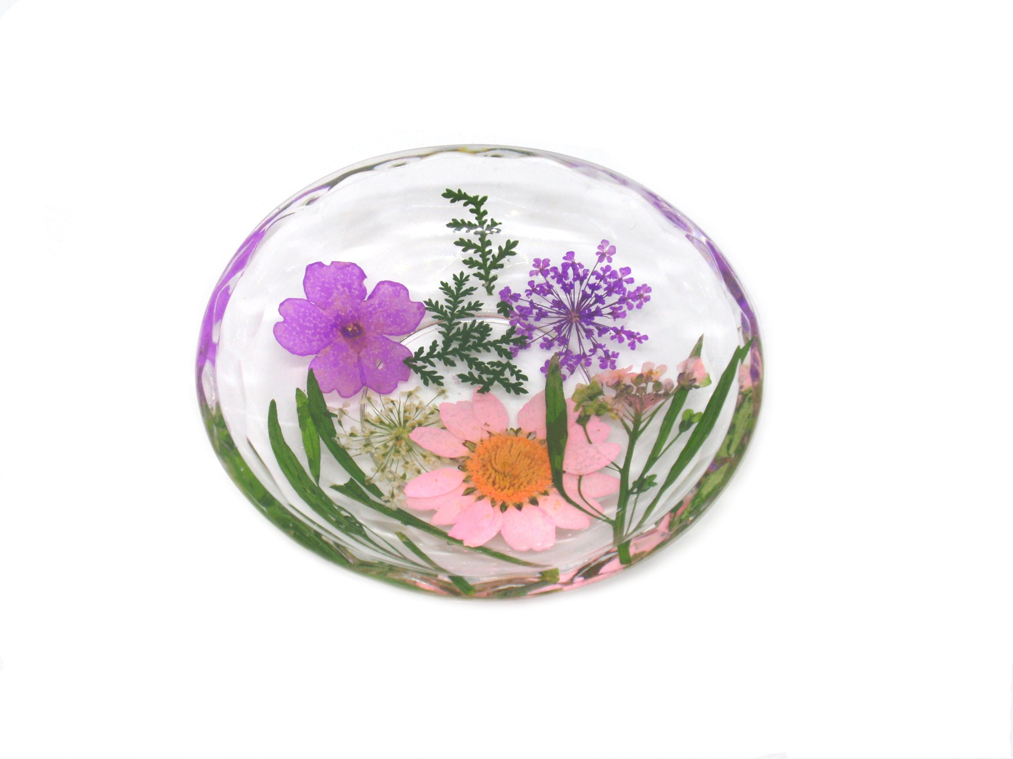 decorative resin trinket dish