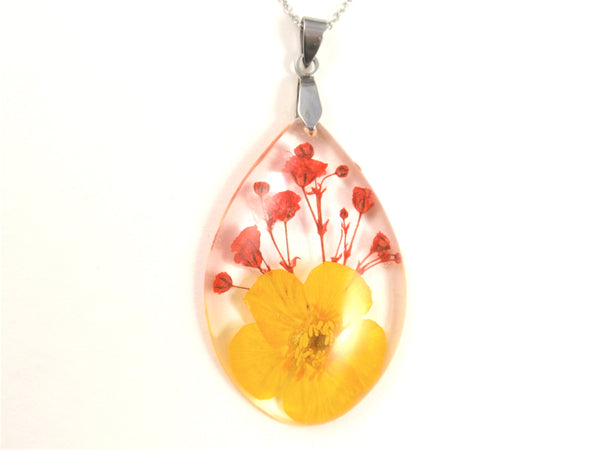 Pressed Flower Jewelry