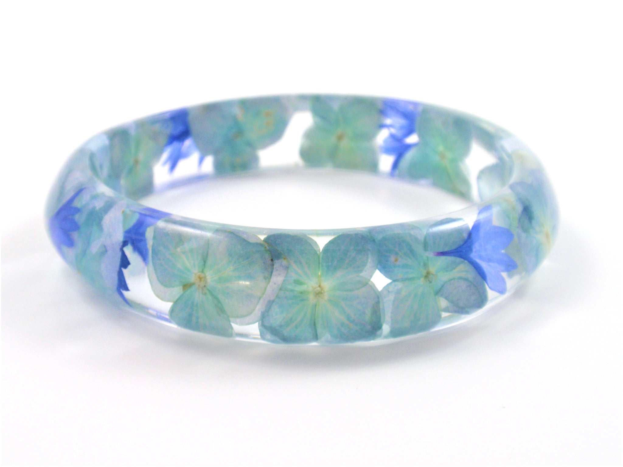 handmade real flower bangle
