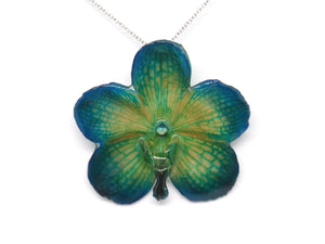 Vanda Orchid Jewelry Necklace