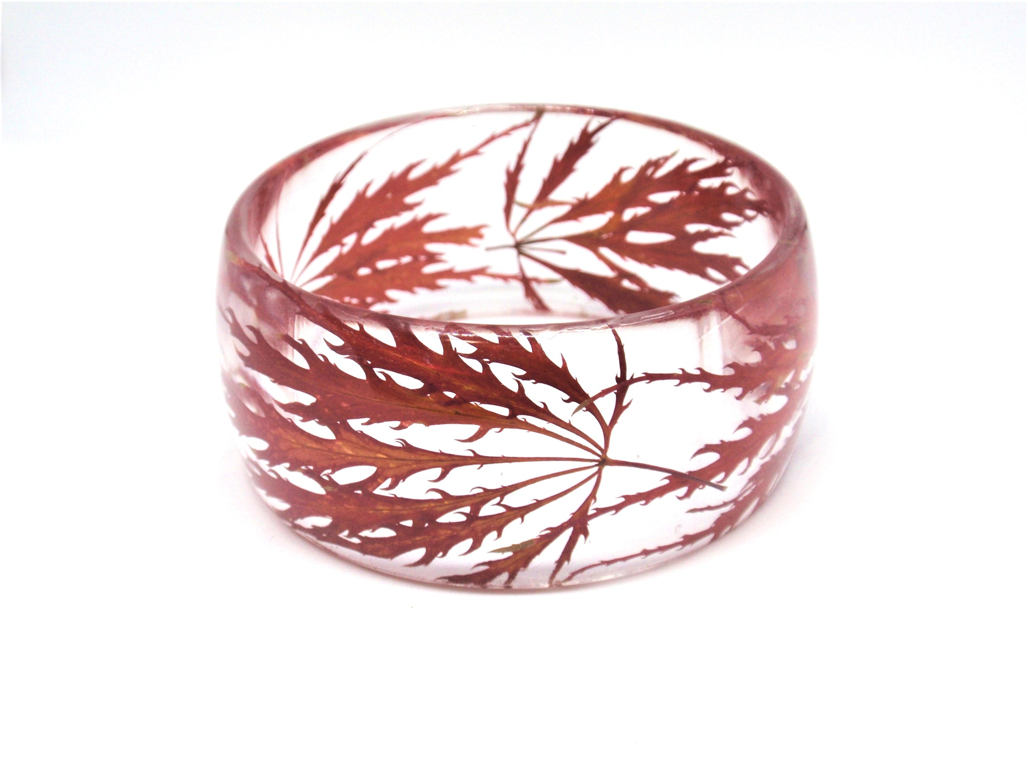 Japanese maple leaves bracelet